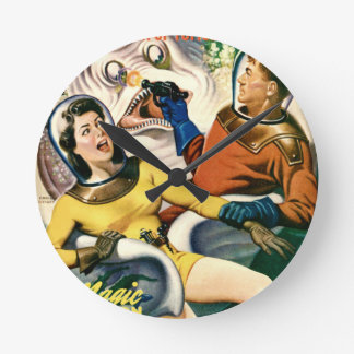 Captain Future and the Magic Moon Wall Clocks
