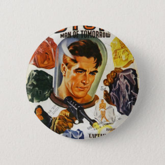 Captain Future and the Space Stones 2 Inch Round Button