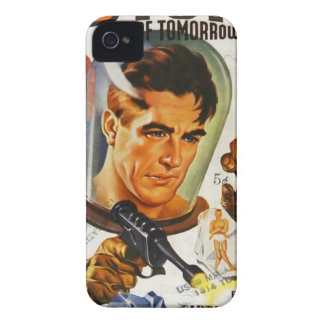 Captain Future and the Space Stones iPhone 4 Case-Mate Case
