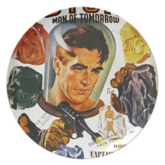 Captain Future and the Space Stones Plate