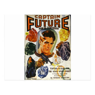 Captain Future and the Space Stones Postcard
