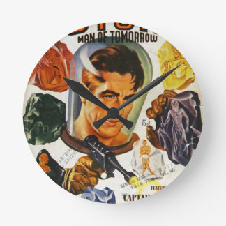 Captain Future and the Space Stones Wallclocks