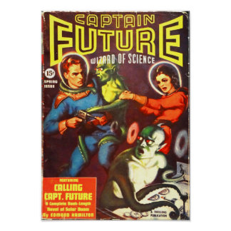 Captain Future and the Tentacle Men Poster