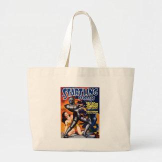 Captain Future Large Tote Bag