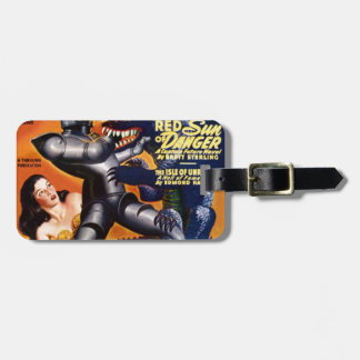 Captain Future Luggage Tag