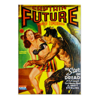 Captain Future -- The Star of Dread Poster