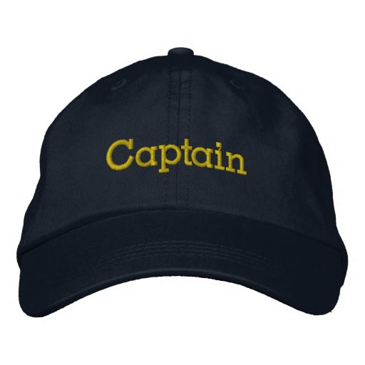 Captain Hat Embroidered Hat