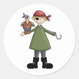 Captain Hook Round Sticker