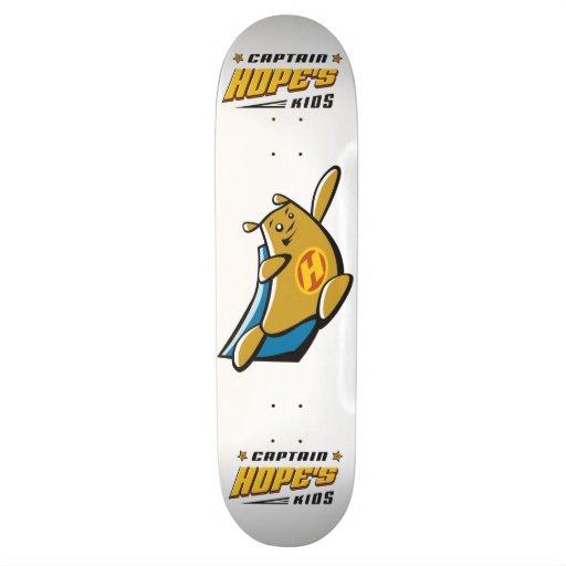Captain Hope Bear Skate Decks