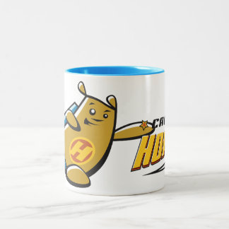 Captain Hope Hero Two-Tone Coffee Mug