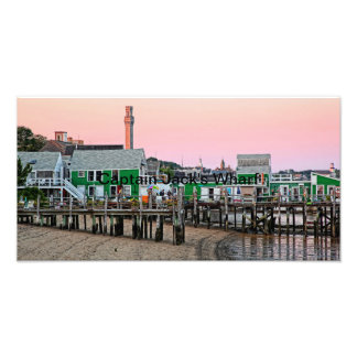Captain Jack's Wharf - Provincetown, MA Art Photo