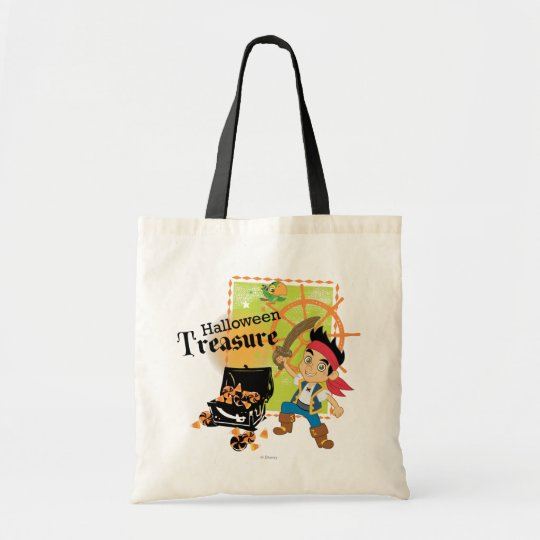 Captain Jake   Halloween Treasure Tote Bag