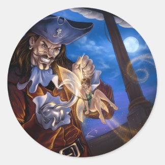 Captain James Classic Round Sticker
