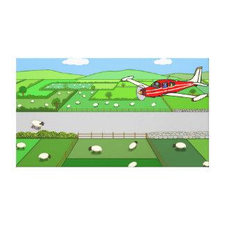 Captain Kayak's Flight Canvas Print
