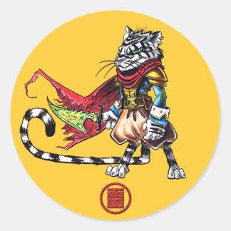 Captain Kitty sticker