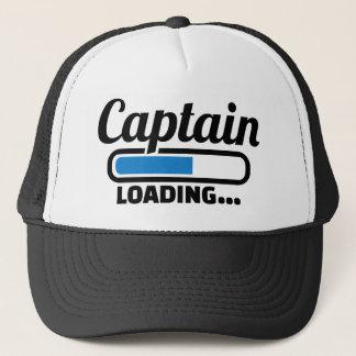 Captain loading trucker hat