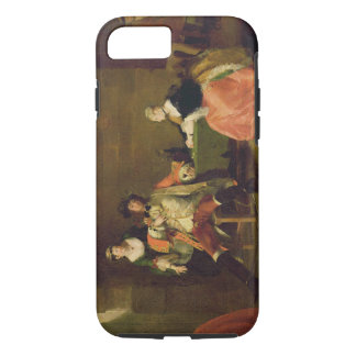 Captain Macheath Upbraided by Polly and Lucy in th iPhone 7 Case