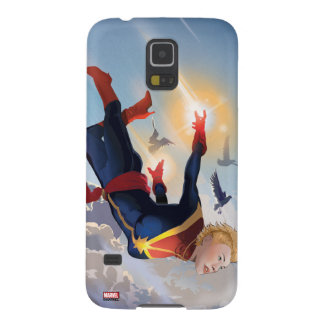 Captain Marvel Entering The Atmosphere Cases For Galaxy S5