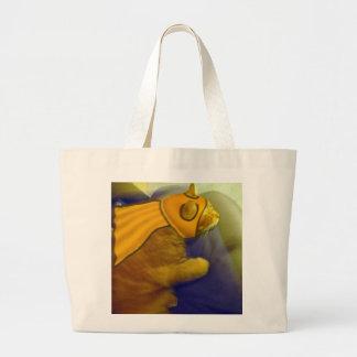 Captain Me-Ow tote bag
