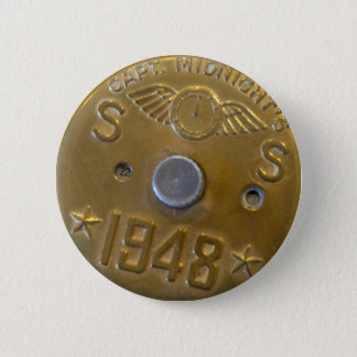 Captain Midnight Decoder Badge 1948 2 Inch Round Button