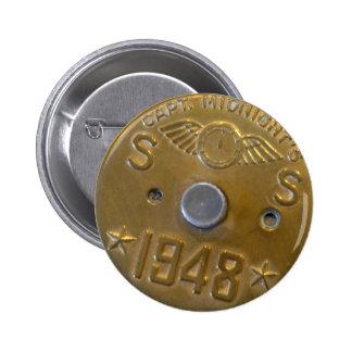 Captain Midnight Decoder Badge 1948 2 Inch Round Button