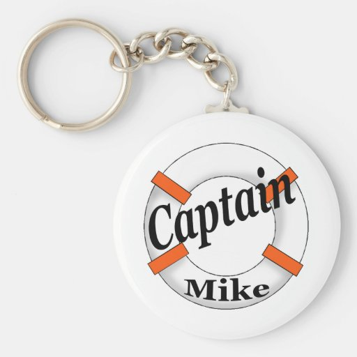 Captain Mike Gear Keychains
