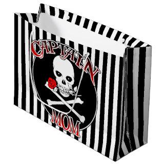 Captain Mom Large Gift Bag