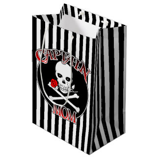 Captain Mom Medium Gift Bag