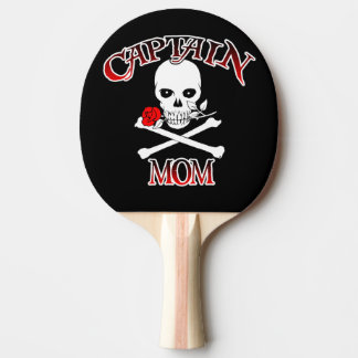 Captain Mom Ping Pong Paddle