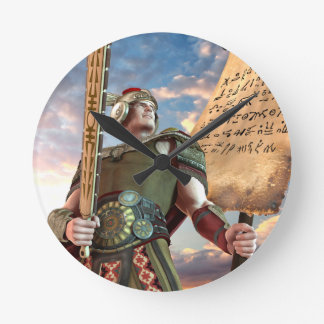 Captain Moroni Wall Clock