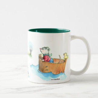 Captain Mouse on Boat Mug