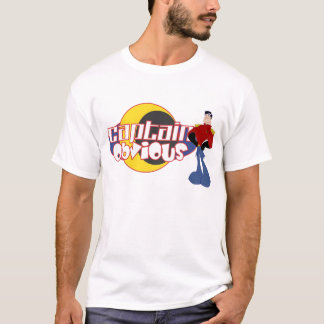 Captain obvious with Logo T-Shirt