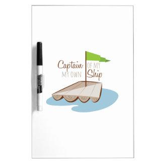 Captain Of Ship Dry-Erase Whiteboards