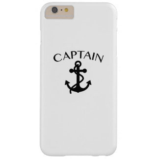 Captain of The Sea Sailing Boating Cruising Cool Barely There iPhone 6 Plus Case