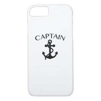 Captain of The Sea Sailing Boating Cruising Cool iPhone 8/7 Case