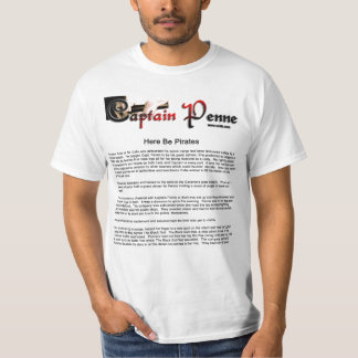 Captain Penne Tee Shirt Book chapte two