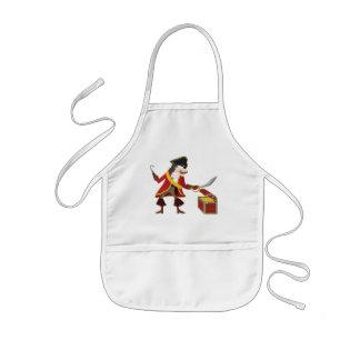 Captain pirate kids apron