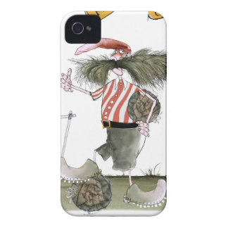 captain red white stripes Case-Mate iPhone 4 case
