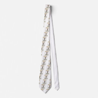 captain red white stripes tie
