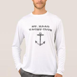 Captain Ron #1: St. Haag Yacht Club Long Sleeve T-Shirt