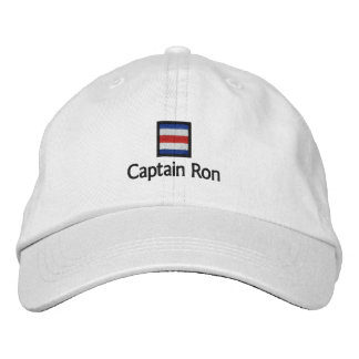 Captain Ron Embroidered Baseball Caps