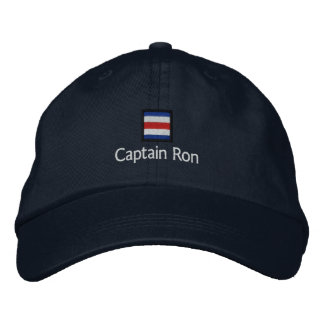 Captain Ron Embroidered Hats
