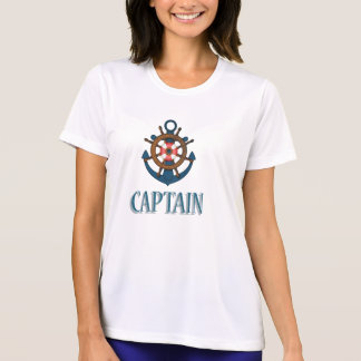 Captain Sailing themed design T-Shirt