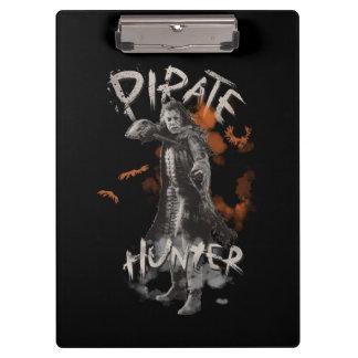 Captain Salazar - Pirate Hunter Clipboard
