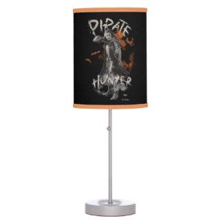 Captain Salazar - Pirate Hunter Table Lamps