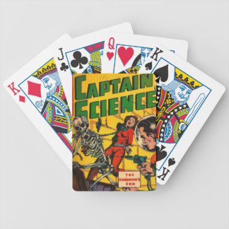 Captain Science Bicycle Playing Cards