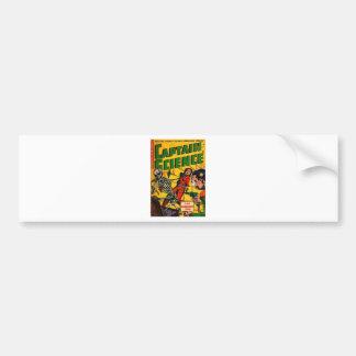 Captain Science Bumper Sticker