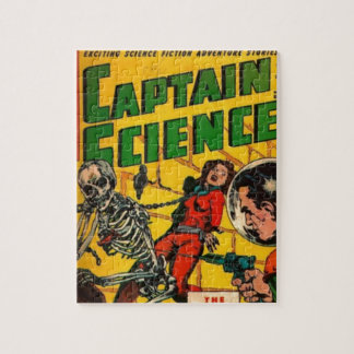 Captain Science Jigsaw Puzzle