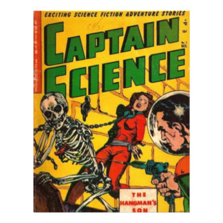 Captain Science Letterhead
