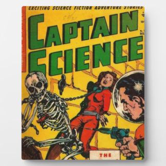 Captain Science Plaque